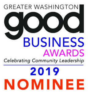 Great Washington Good Business Award Nominee 2019