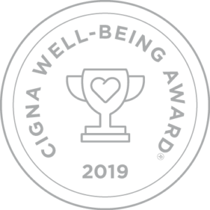 Cigna Well-Being Award 2019 Seal