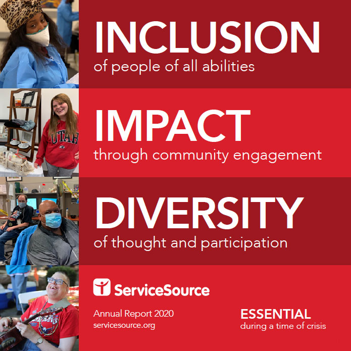 ServiceSource 2020 Annual Report Cover