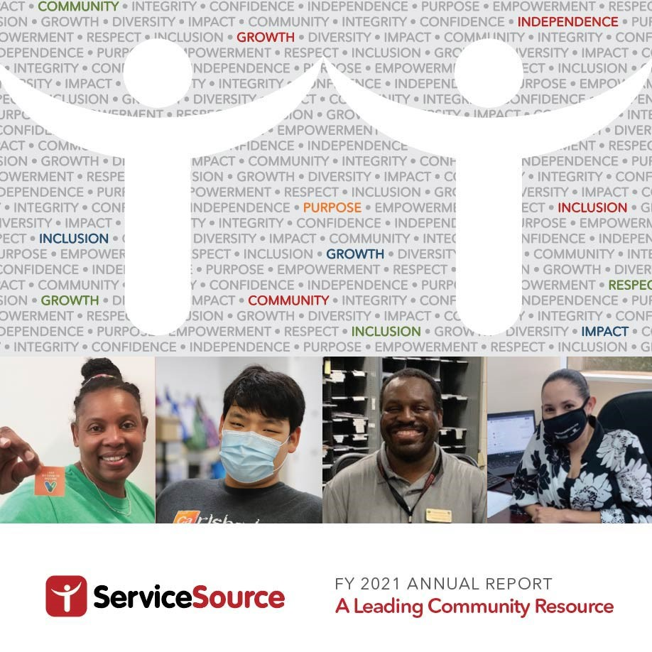 ServiceSource 2021 Annual Report Cover